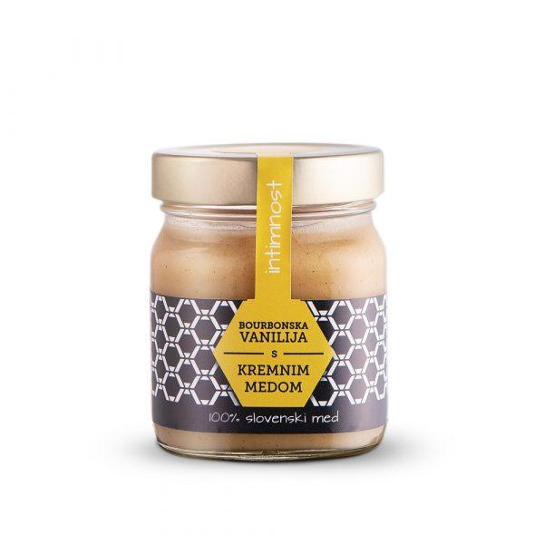 Kremni med s pravo bourbonsko vanilijo